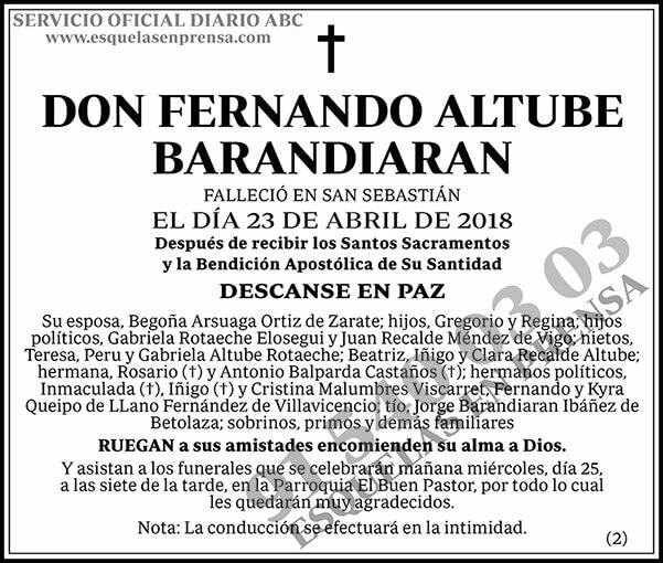 Fernando Altube Barandiaran